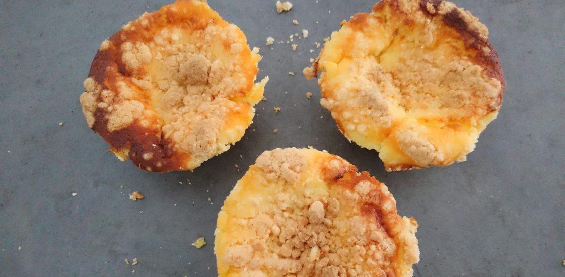 Saftige Kasekuchen Muffins Mit Streusel Liebe Ist Backen
